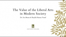 Hamza Yusuf and Eva Brann | The Value of the Liberal Arts
