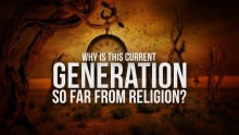 The Reason Why This Generation is Not Into Religion