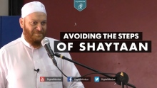 Avoiding the Steps of Shaytaan - Shady Alsuleiman
