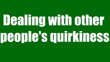 Dealing with other people's quirkiness | Mufti Abdur-Rahman ibn Yusuf