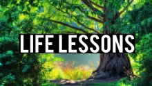 LIFE LESSONS LEARNT FROM A TREE (Powerful)
