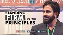 Standing Firm On Our Principles - Hamza Tzortzis