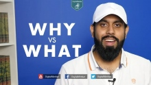 Why vs What - Muiz Bukhary