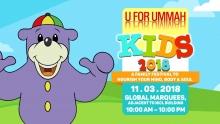 Zaky's visit to Pakistan at the U For Ummah Kids 2018