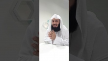 Important Correction - Mufti Menk