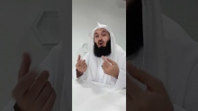 Talking behind my back! - Mufti Menk