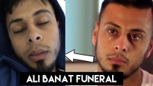 The complete Funeral of Ali Banat and Advise for All !!