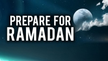 THE LAST DAY TO PREPARE FOR RAMADAN
