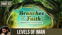 The Branches of Faith (Part 22): The Causes of Increasing & Decreasing of Iman - Shaykh Yasir Qadhi