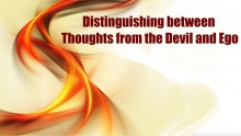 Distinguishing between Thoughts from the Devil and Ego | Mufti Abdur-Rahman ibn Yusuf