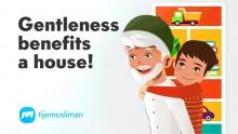 Gentleness benefits a house
