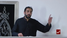 The Devils Obsession with  Comparison - Khutbah By Nouman Ali Khan