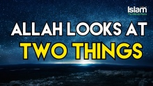 Allah Looks at Two Things | Mufti Menk