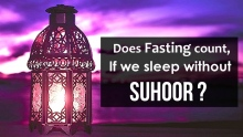 Does Fasting Count if we sleep without Suhoor? Zakir Naik #Ramadan Reminder