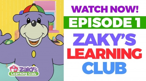 EPISODE 1 of Zaky's Learning Club