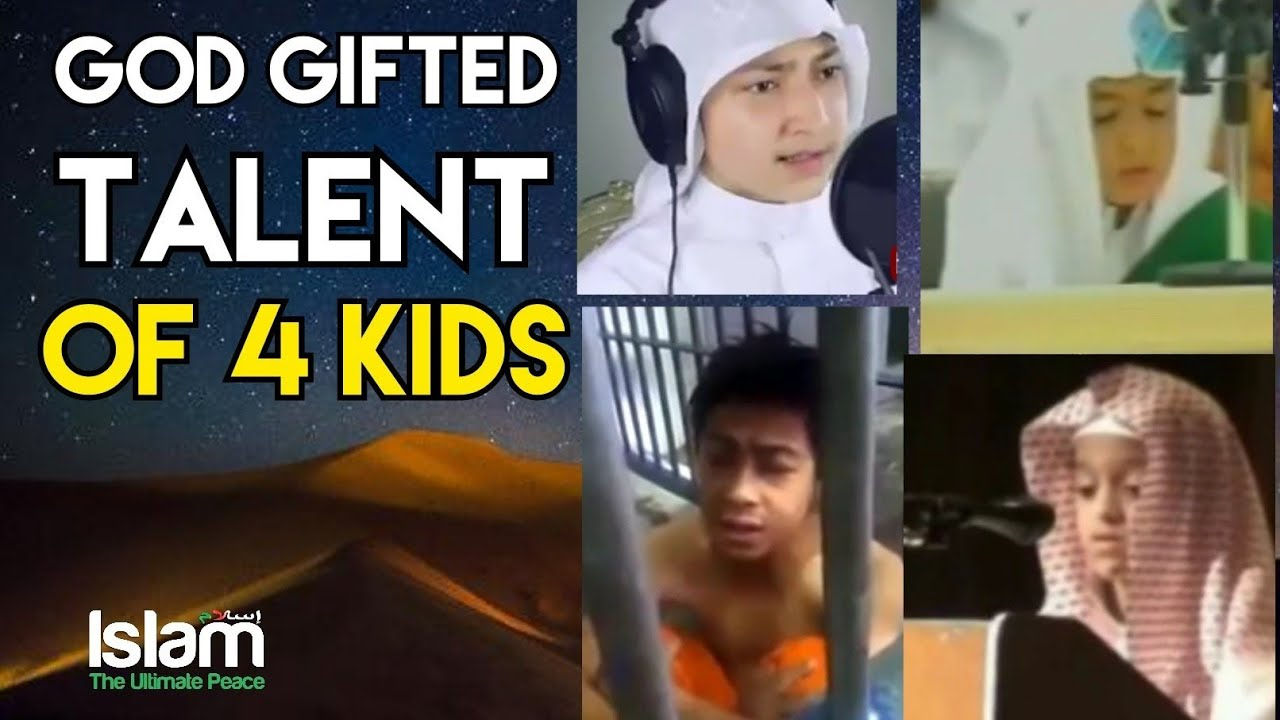 God Gifted Talent of 4 Kids | Best Quran Recitation in The