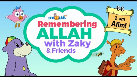 NEW ZAKY CARTOON - Remembering Allah with Zaky & Friends (Preview)