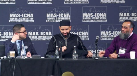 Q&A Knowledge Retreat Conclusion | Yaser Birjas & Omar Suleiman #MASCON2018