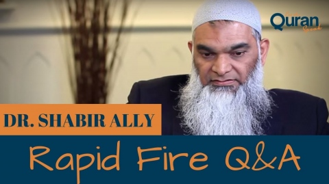 Rapid Fire: Q&A (Aired Jan 26th)