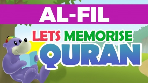 Memorise Quran with Zaky - Suratul Fil - Great for Kids!