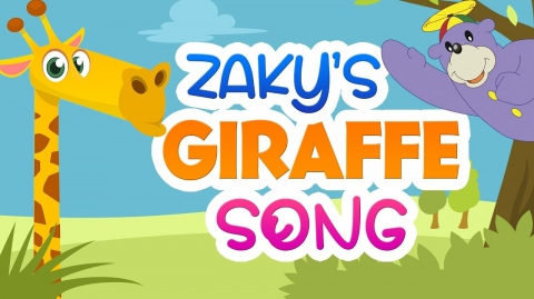 Zaky's New Giraffe Song For Kids!