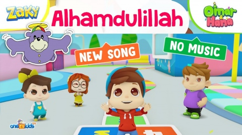 Alhamdulillah Song by Zaky's Friends, Omar & Hana