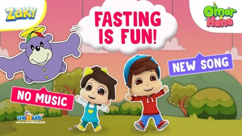 NEW SONG - Fasting is FUN! by Omar, Hana & Zaky