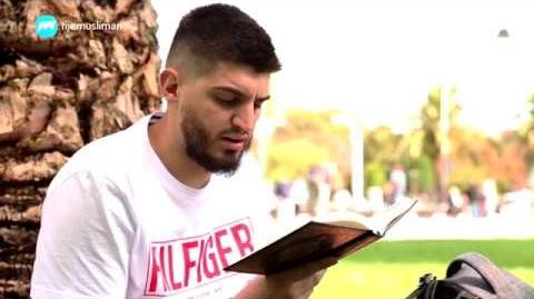 Онзи, който чете Корана!