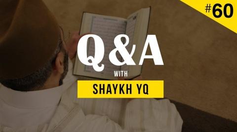 Reciting from a Quran During Tarawīh Prayer? Ask Shaykh YQ #60