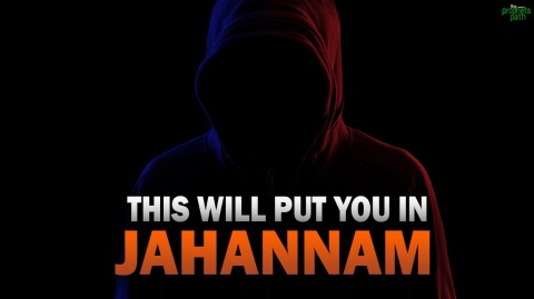 THIS ACTION WILL PUT YOU IN JAHANNAM