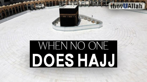 WHEN NO ONE DOES HAJJ, A SIGN OF THE END