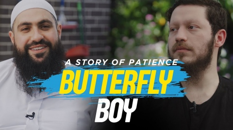 BUTTERFLY BOY: A Story of Patience - Mohamed Hoblos