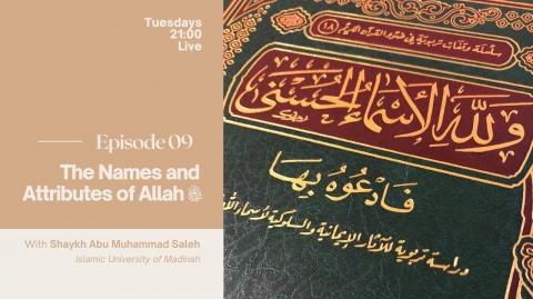 09 - The Names and Attributes of Allāh - التواب - الحليم - الغفار - الغفور - العفو - Part 1