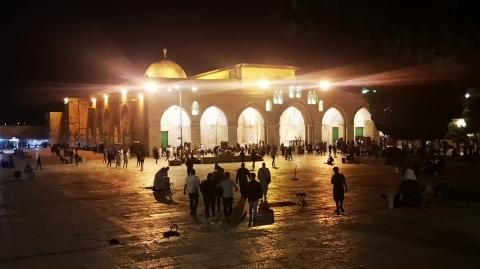 Adhan al-Fajr - Masjid al-Aqsa, Jerusalem, Palestine