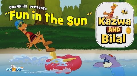 Fun In The Sun - Kazwa & Bilal featuring Zaky!