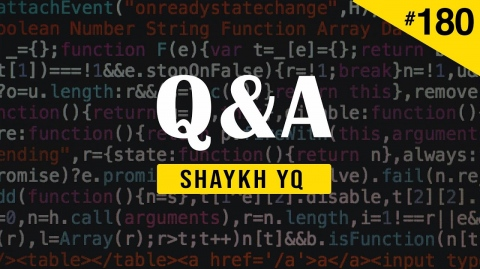 Regarding Working for the Security Services of My Country   Ask Shaykh YQ #180