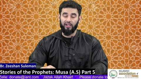 Stories of the Prophets: Musa (A.S) Part 5