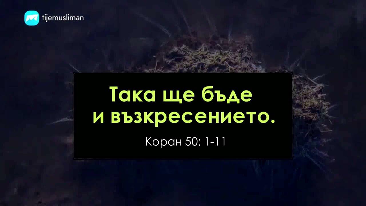 Така ще бъде и възкресението!