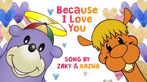 🥰 Because I Love YOU - Zaky & Kazwa Song