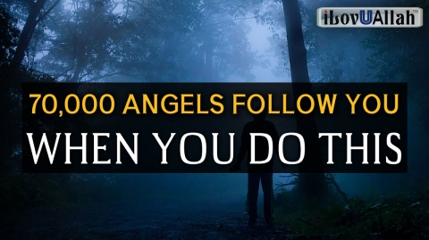 70,000 ANGELS FOLLOW YOU WHEN YOU DO THIS