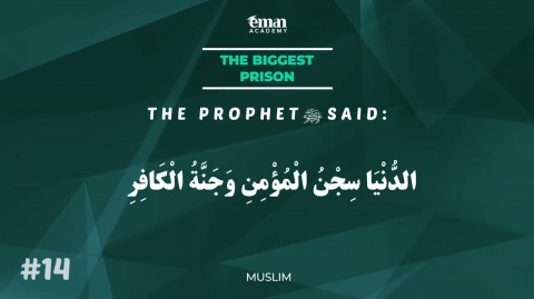 A Hadith a Day - The Biggest Prison - Mufti Menk