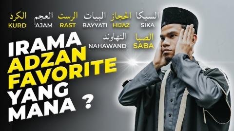 ADZAN 8 IRAMA - Muzammil Hasballah (أذان)