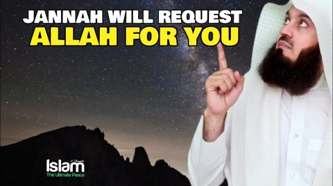 IF YOU SAY THIS THREE TIMES JANNAH WILL REQUEST ALLAH FOR YOU !