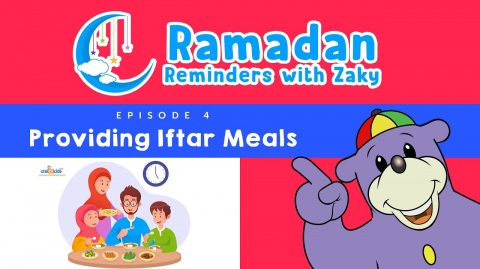 Providing Iftar Meals (ep4) - Ramadan Reminders With Zaky 🌙
