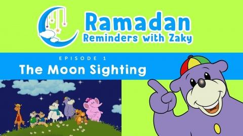 The Moon Sighting (ep1) - Ramadan Reminders With Zaky 🌙