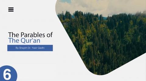 The Parables of The Quran #6: Surah Baqarah: 264   Nullifying Charity By Hurtful Words   Yasir Qadhi