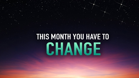 THIS RAMADAN YOU'LL HAVE TO CHANGE