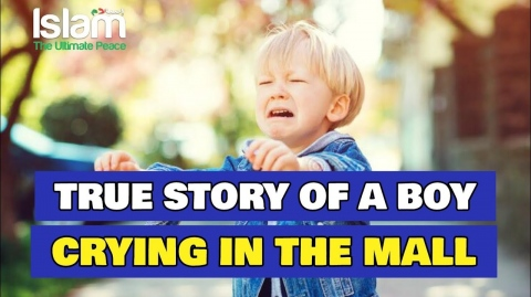 TRUE STORY OF A LITTLE BOY CRYING IN THE MALL !