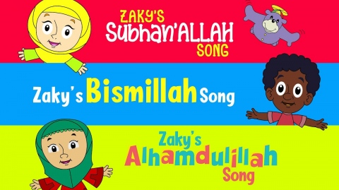 Zaky's 3 Thikr Song Compilation (60 MINUTES)